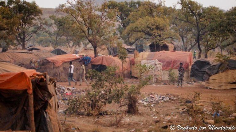 Una Mina de Oro Artesanal en Burkina Faso