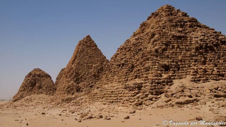 Las pirámides de Nuri: Sudan