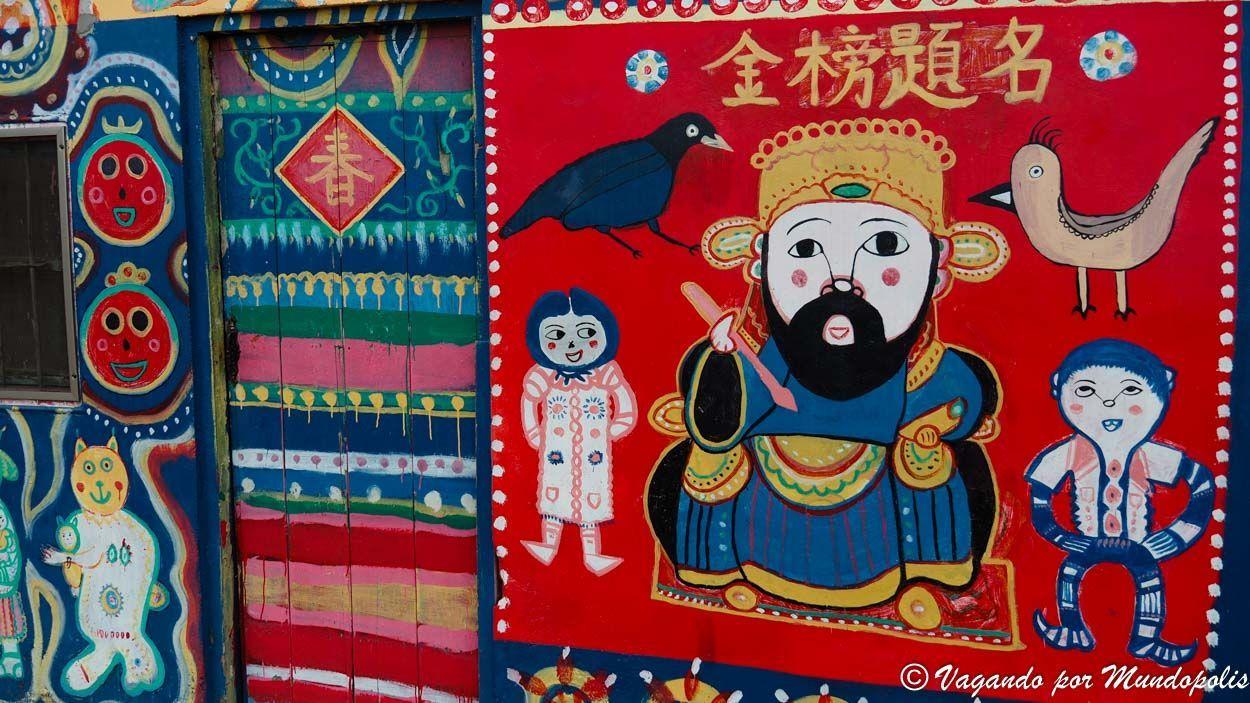 como--legar-a-rainbow-vilage-desde-taichung