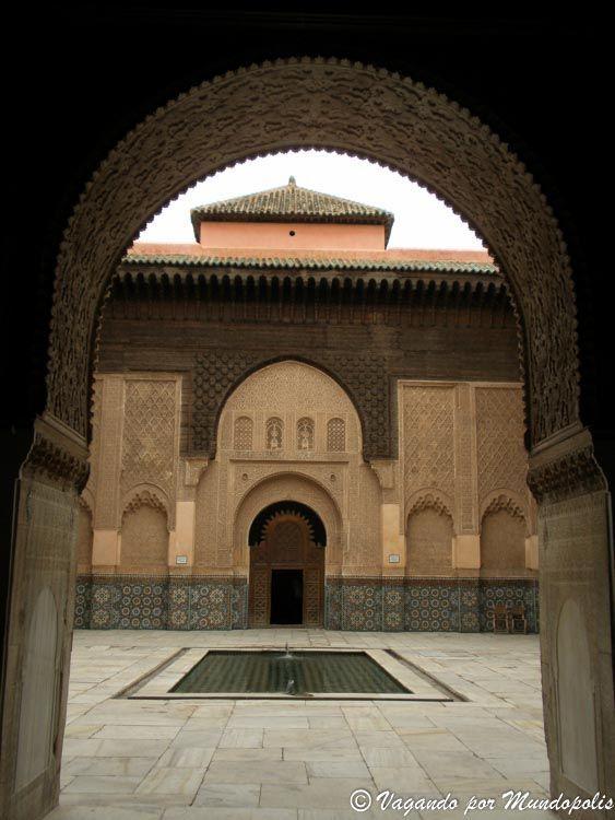 madrasa-ben-youssef-marrakech-que-hacer-en-5-dias