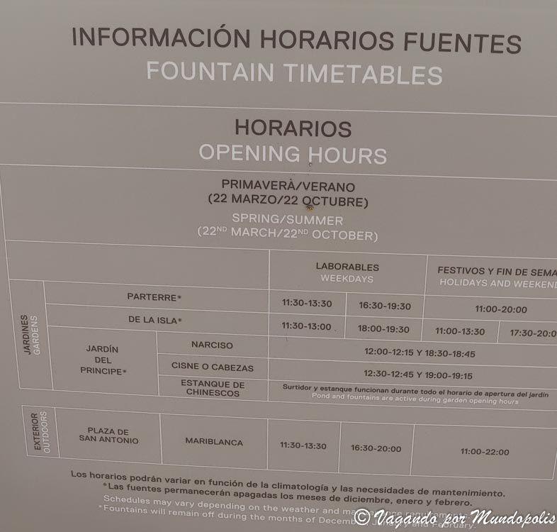 horario-fuentes-jardines-aranjuez