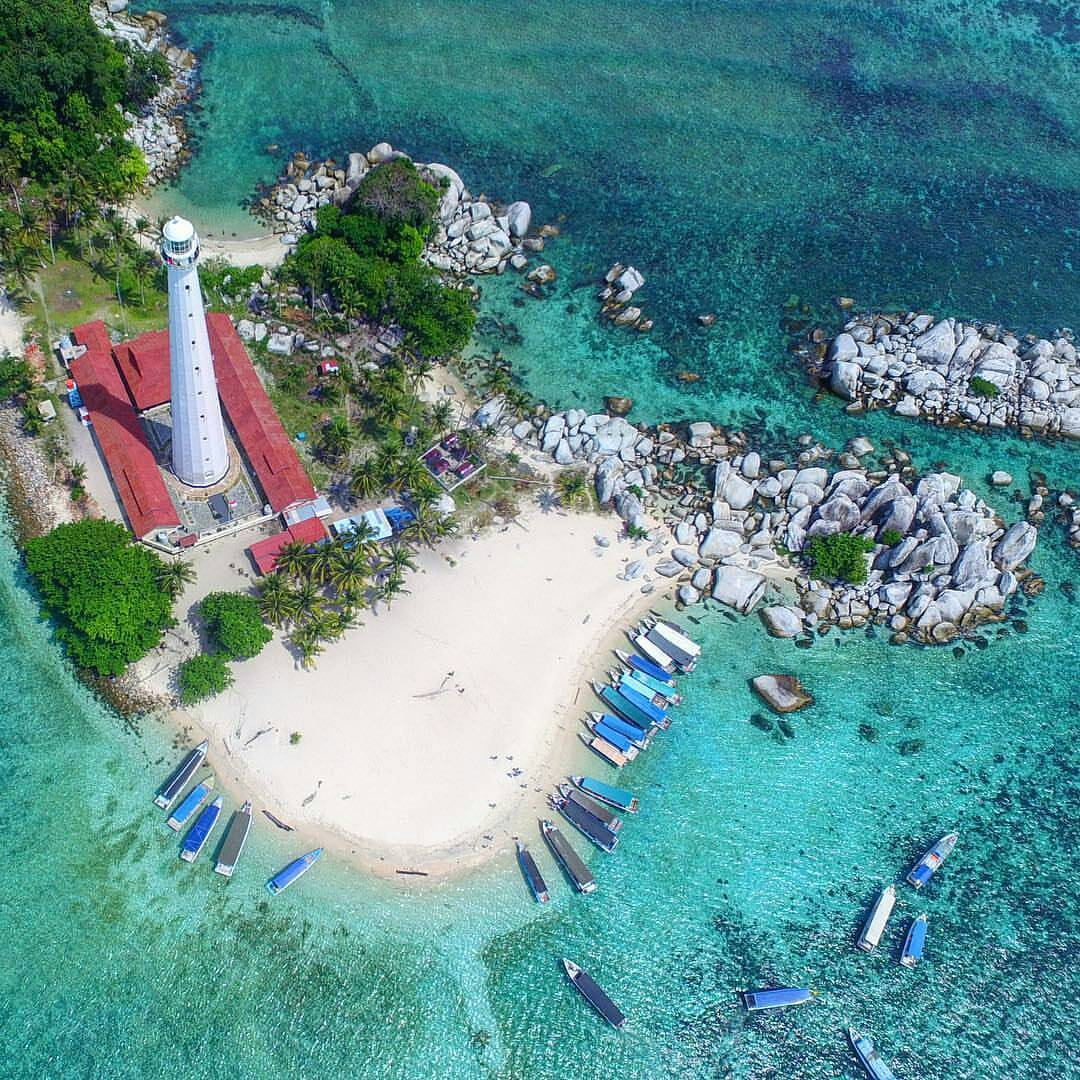 What are Famous in Belitung Island?
