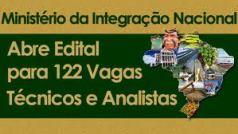 Autorizado Concurso no Ministério da Integração - Mi - 2012