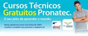 Pronatec 2014 - Cursos oferecidos, requisitos 01