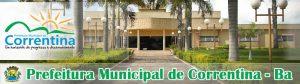 Concurso prefeitura de Correntina - BA 2014 01
