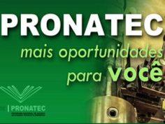 Cursos gratuitos Pronatec Pindamonhangaba 2014