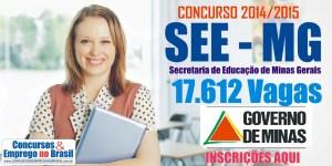 Concurso professor SEE MG 2015 01