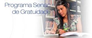 Cursos gratuitos PSG SENAC RORAIMA RR 2015 01