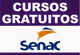 Cursos gratuitos Senac PSG Maranhão MA 2016