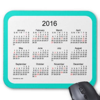 Calendário 2016 - 4