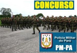 PM do Pará PA abre concurso público