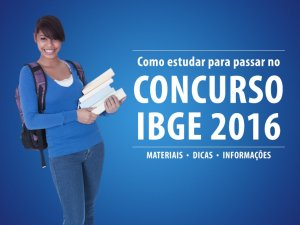 Apostilas gratuitas Concurso do IBGE 2016