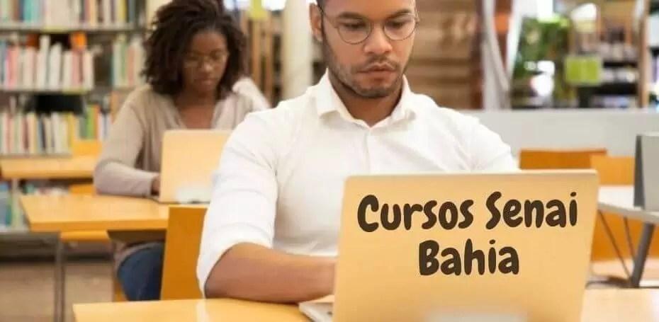 cursos Senai Bahia
