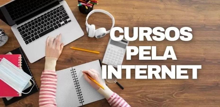 cursos pela internet