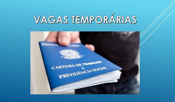 Vagas temporárias para demandas de final de ano - Confira as oportunidades!