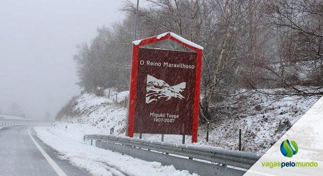 Neve em Portugal