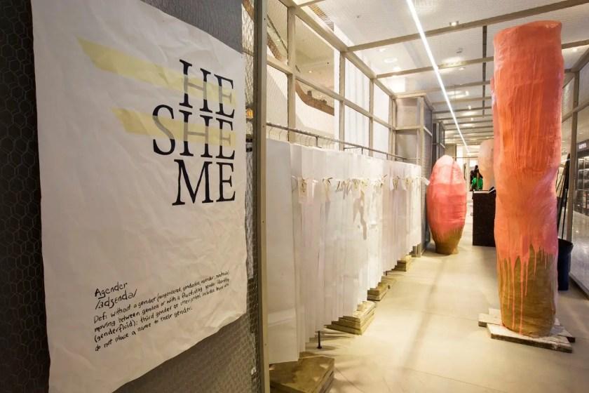 Selfridges' gender-neutral store