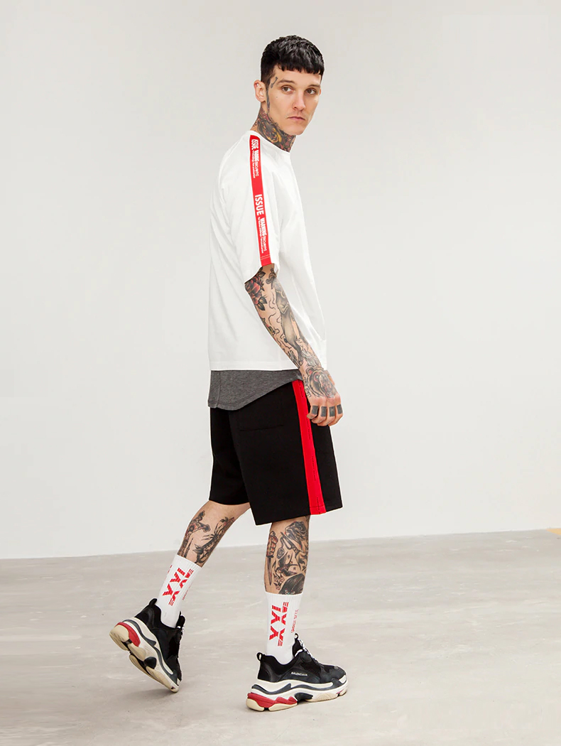 tshirt-off-white-issue-band-4-red