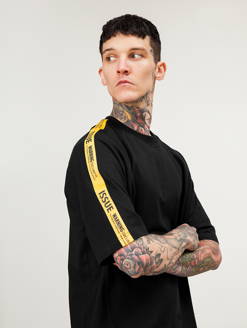 tshirt-off-white-issue-band-8-yellow-band