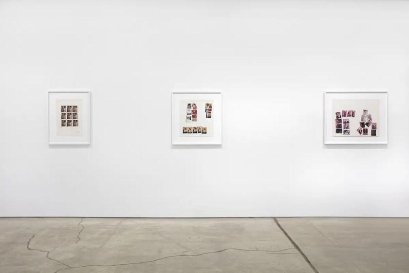 Andy Warhol Keith Haring Polaroids