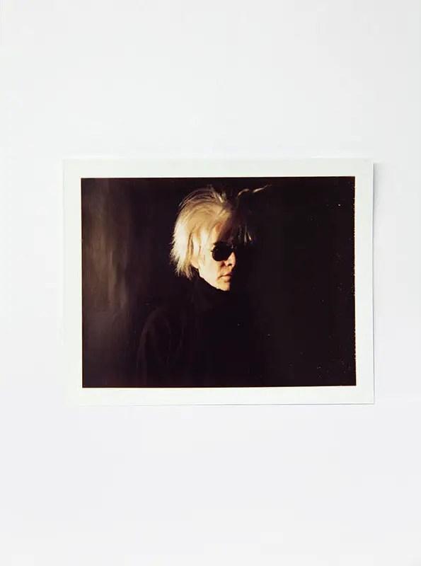 andy warhol photography polaroid