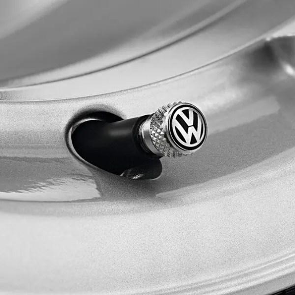 Original VW Ventilkappen mit Logo 000071215