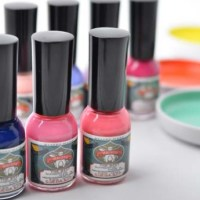 Esmalte de uñas con pigmentos naturales de Gofun Nail