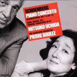 Schoenberg - Piano concerto - Pierre Boulez - Mitsuko Ushida
