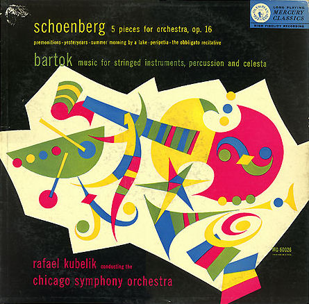 Kubelik conducts Schoenberg 5 pices op. 16