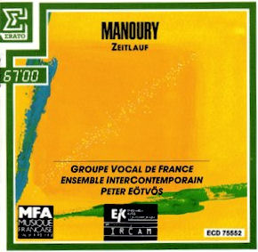 Philippe Manoury - Zeitlauf