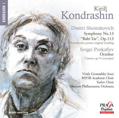 Kirill Kondrashin - Shostakovitc - Prokoviev - Praga Digitals