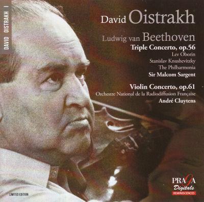 Oistrakh - Beethoven - Triple concerto - Violin concerto
