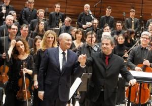 Hugues Dufourt et PIerre-André Valade