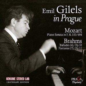 Emile Guilels in Prague