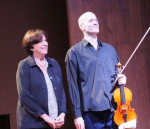 Edith Canat de Chizy et Mathieu Godefroy