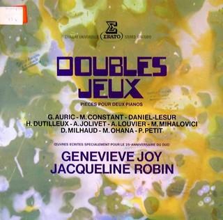 Geneviève Joy - Jacqueline Robin
