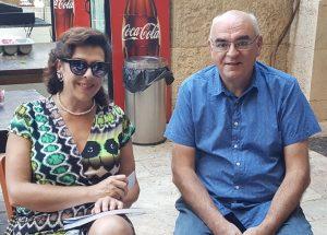 Avec Elena Bashkirova au Festival de musique de chambre de Jérusalem