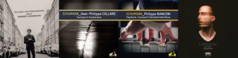 Schumann - Bianconi, Collard, Carlos, von Eckardstein