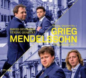 David Oistrakh String Quartet - Grieg - Mendelssohn