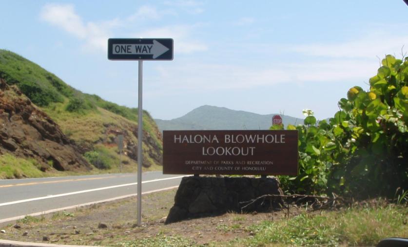 Halona Blowhole