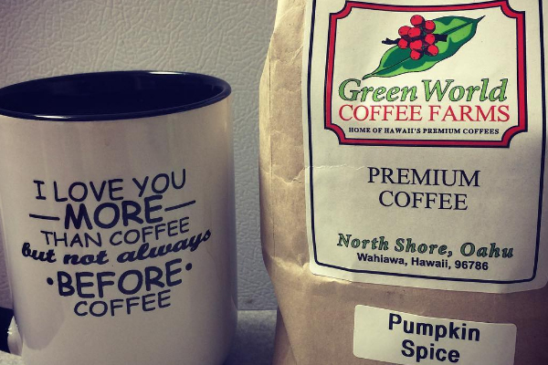 Coffee farm oahu