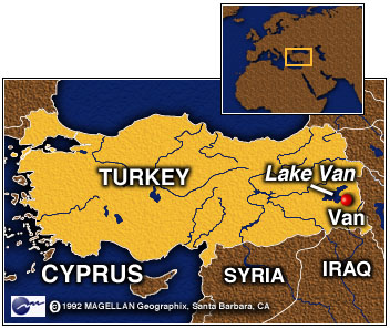 Lake Van Eastern Turkey