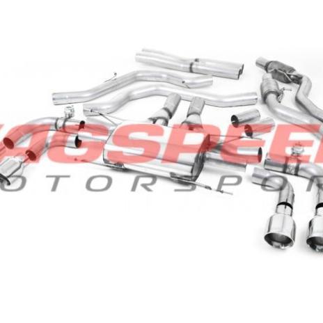 Cat-back Milltek para Giulia Quadrifoglio 2.9 V6 Bi-Turbo ( sin OPF/GPF)