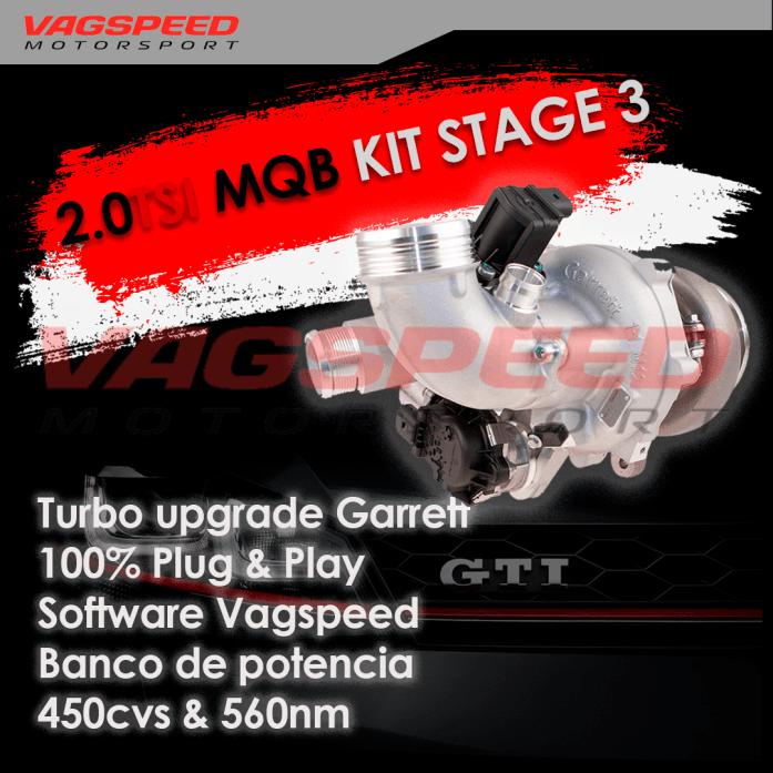 Kit stage 3 2.0TSI MQB