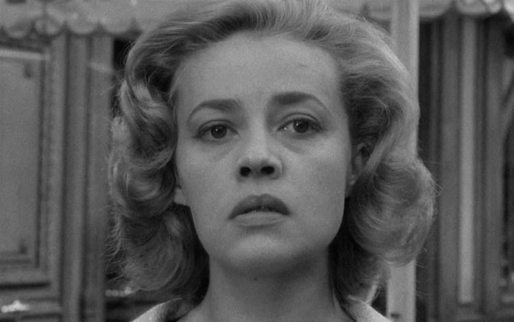 """Jeanne Moreau in Louis Malle's """"Ascenseur pour l'échafaud"""" (1958)"""