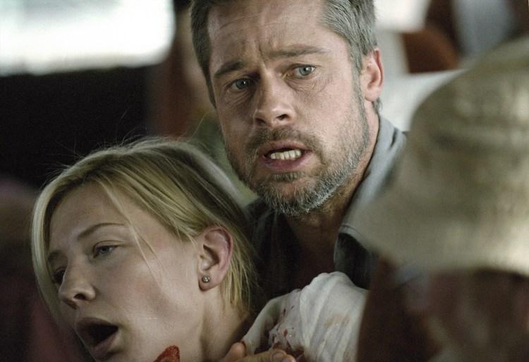 Cate Blanchett and Brad Pitt