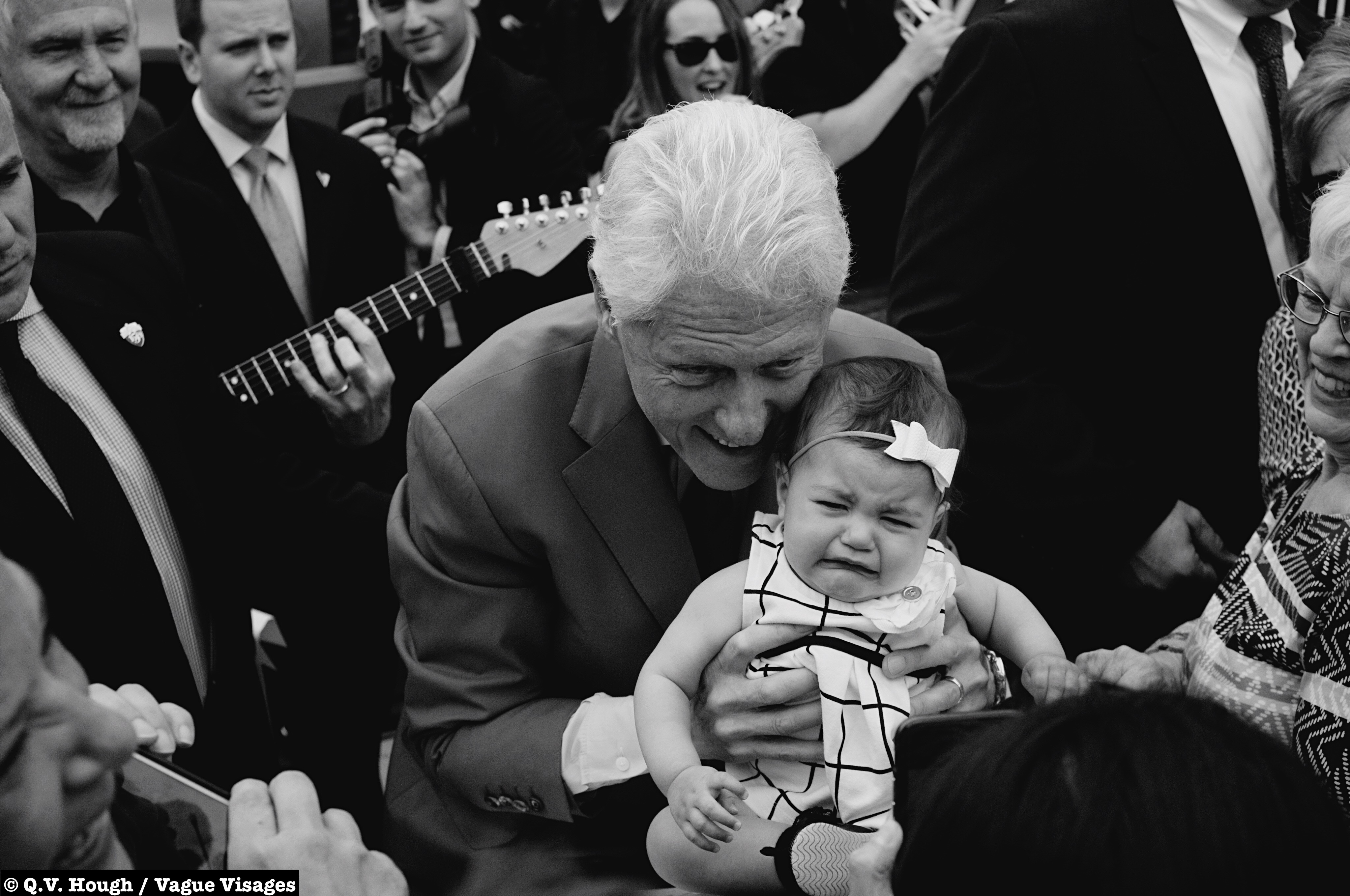 photo essay campaign trail bill clinton in fargo by q v photo essay campaign trail 2016 bill clinton in fargo by q v hough vague visages bull wave faces