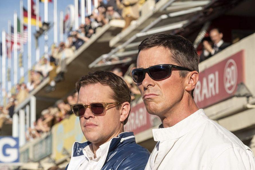 Matt Damon and Christian Bale in Ford v Ferrari (2019)