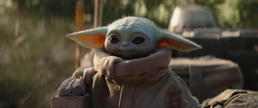The Baby Yoda in The Mandalorian Season One