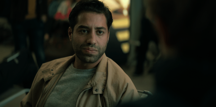 Kais Setti as Farid in Blood Red Sky on Netflix